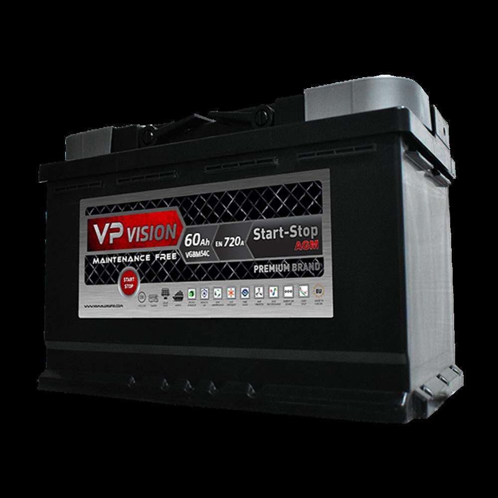 VP Vision AGM 60Ah D+