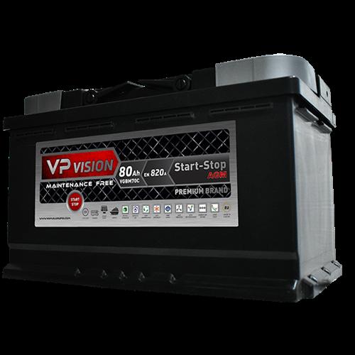 VP Vision AGM 80Ah D+