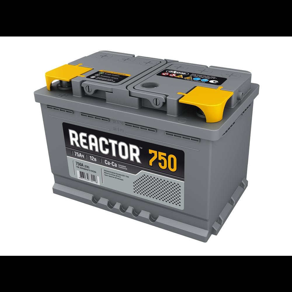 REACTOR 75Ah D+