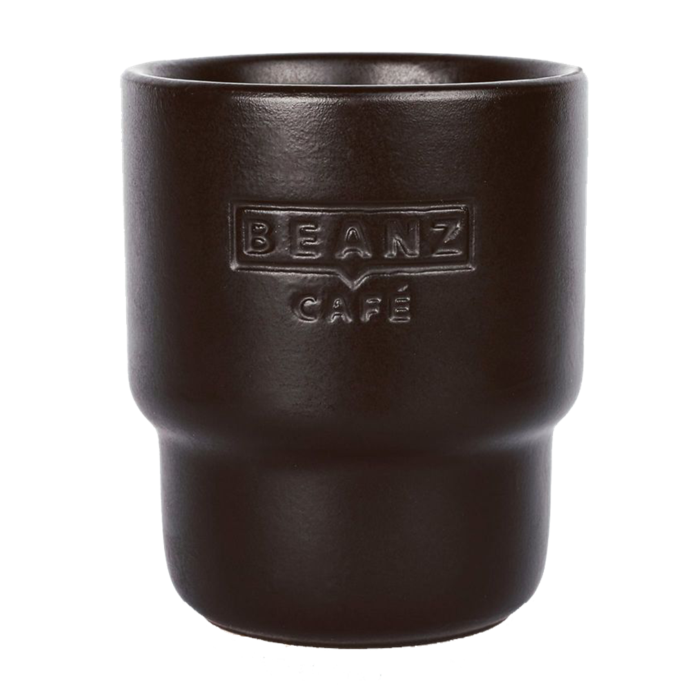 Black Roasted BeanZ - 2x cappuccino cup