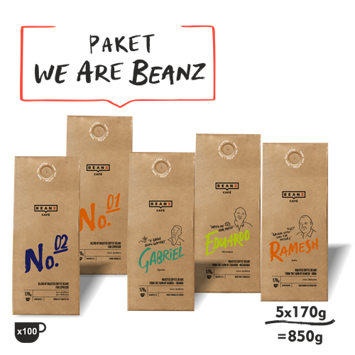 "5. ""We are BeanZ"" 850g"