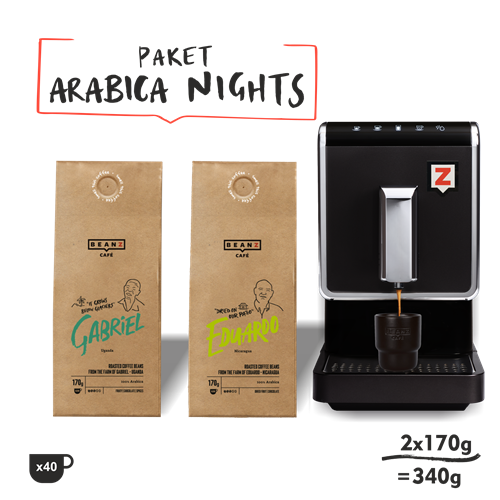 "1. ""Arabica Nights"" 340g + Tunbow 8300"