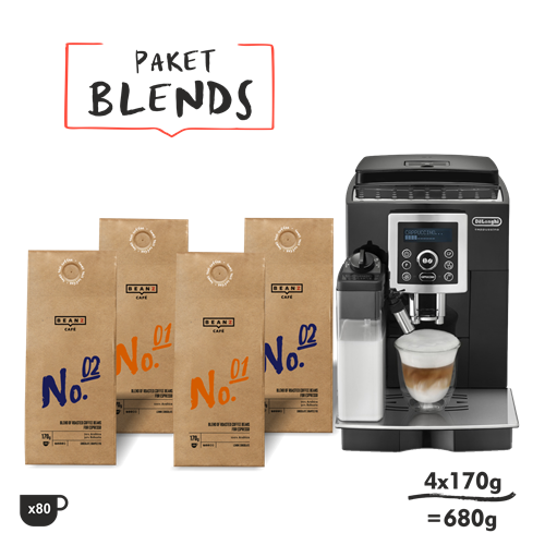 "4. ""Blends"" 680g + DeLonghi ECAM23460B"