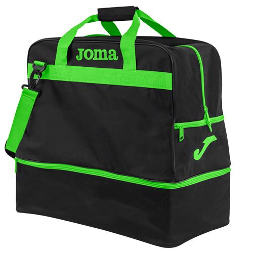 JOMA BAG TRAINING III BLACK/FLUOR GREEN LARGE - 50l