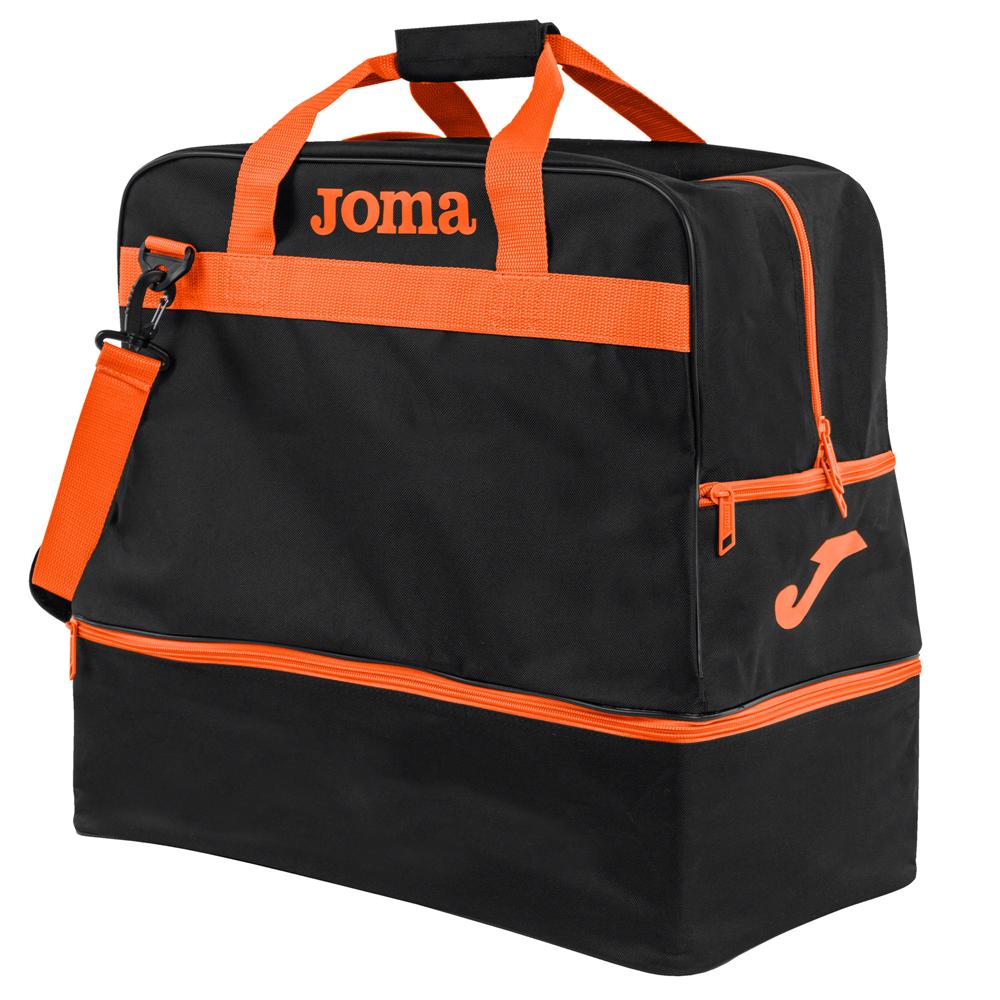 JOMA BAG TRAINING III BLACK/ORANGE LARGE - 50l