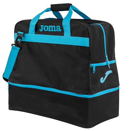 JOMA BAG TRAINING III BLACK/FLUOR TURQUOISE LARGE - 50l