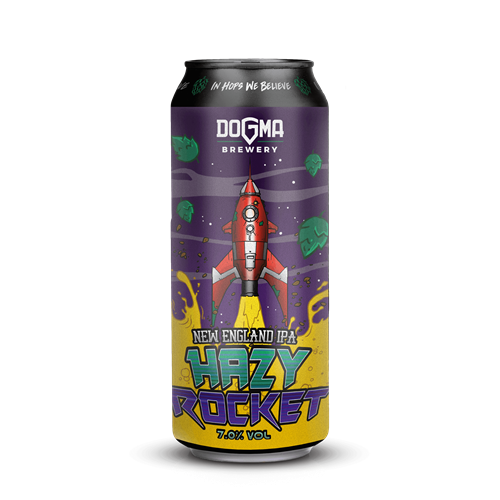 HAZY ROCKET New England IPA - 500ml