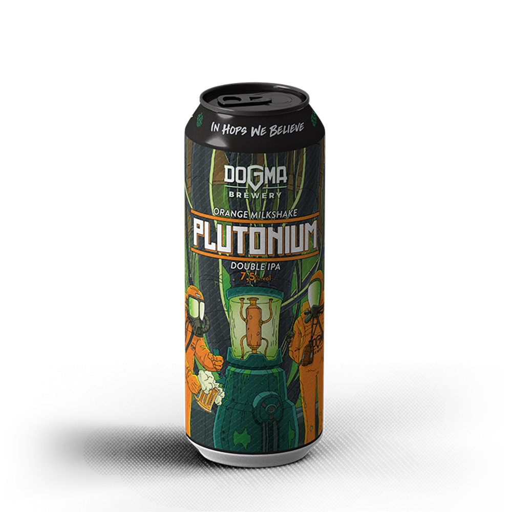 PLUTONIUM Orange Milkshake Double IPA - 500ml