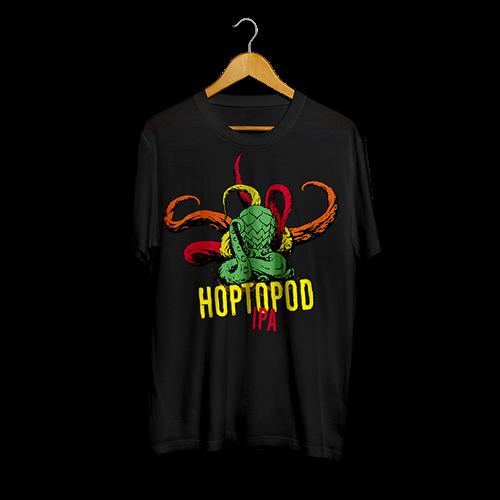 Majica HOPTOPOD - crna