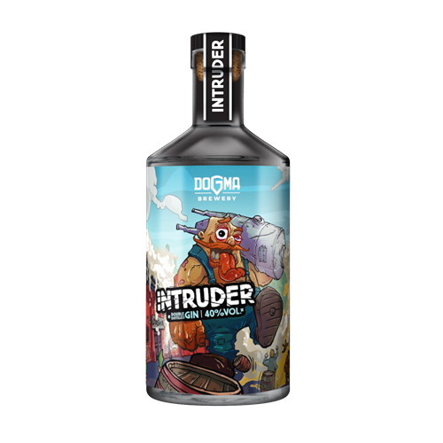 INTRUDER Double Distilled GIN - 700ml