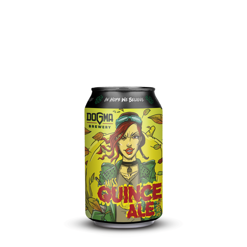 MISS QUINCE Ale - Limenka 330ml