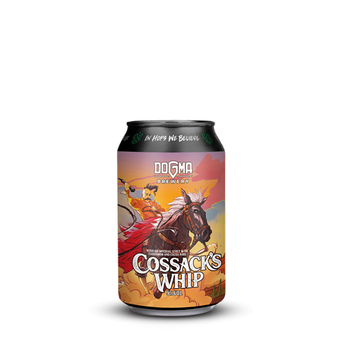 COSSACK's WHIP Russian Imperial Stout - limenka 330ml