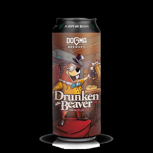 DRUNKEN BEAVER Mild ALE - 500ml