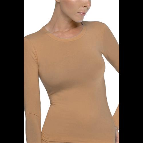 Majica dug rukav Basic CAMEL