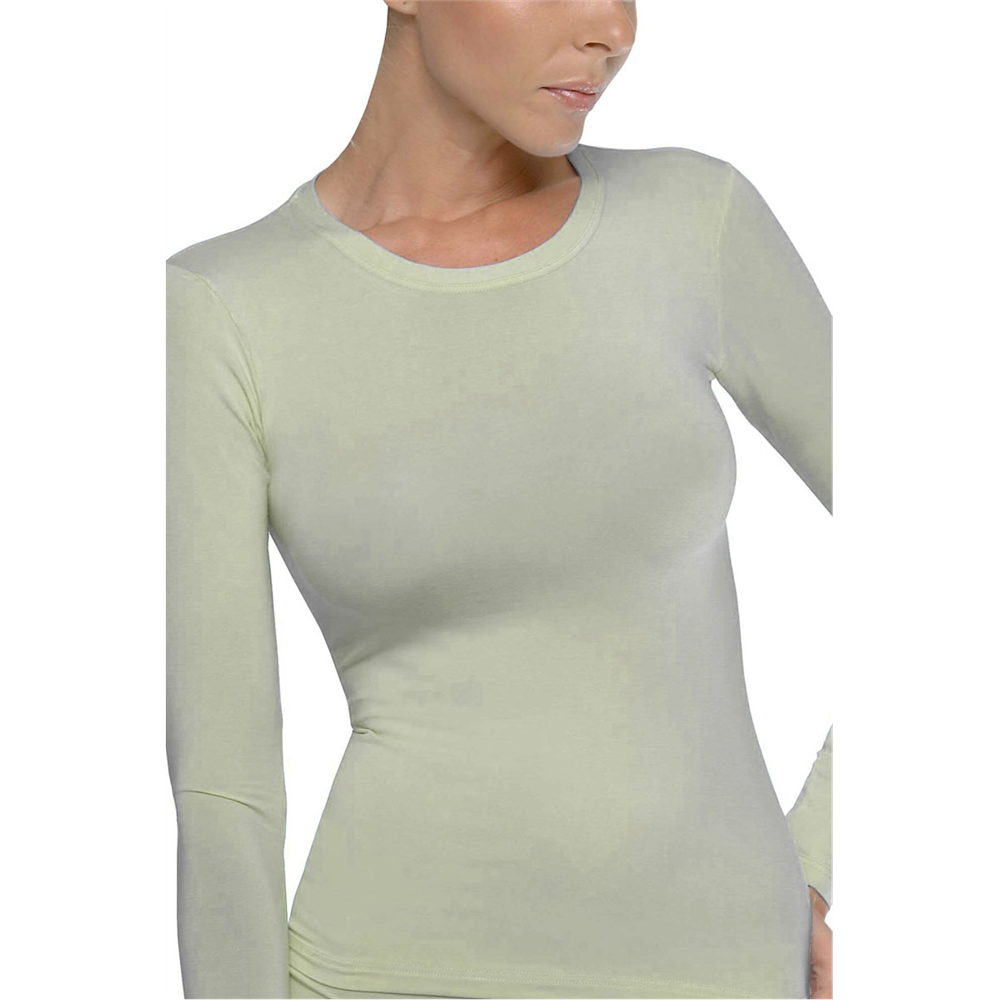 Majica dug rukav Basic LIGHT GREY