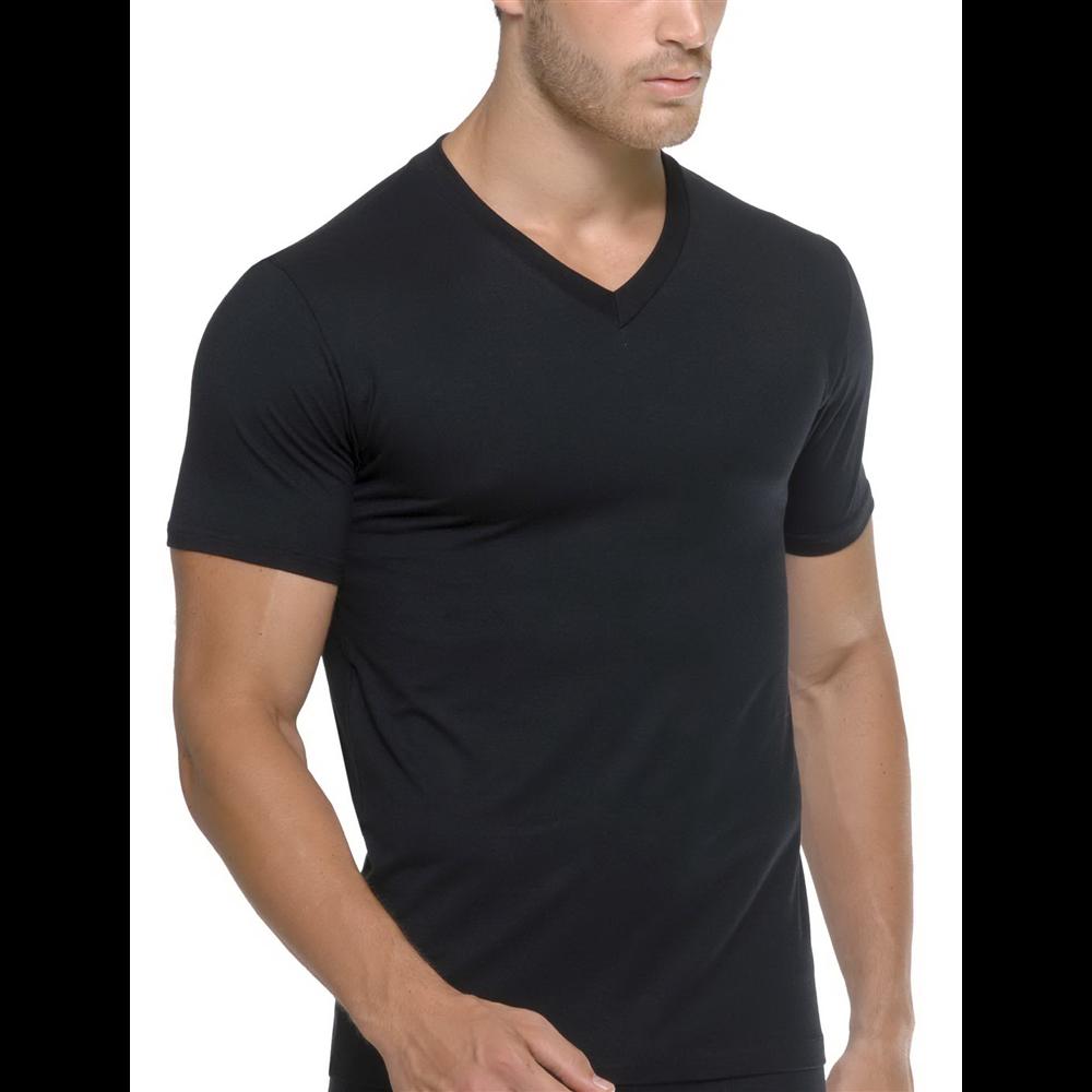 Muska majica V - NECK mikromodal