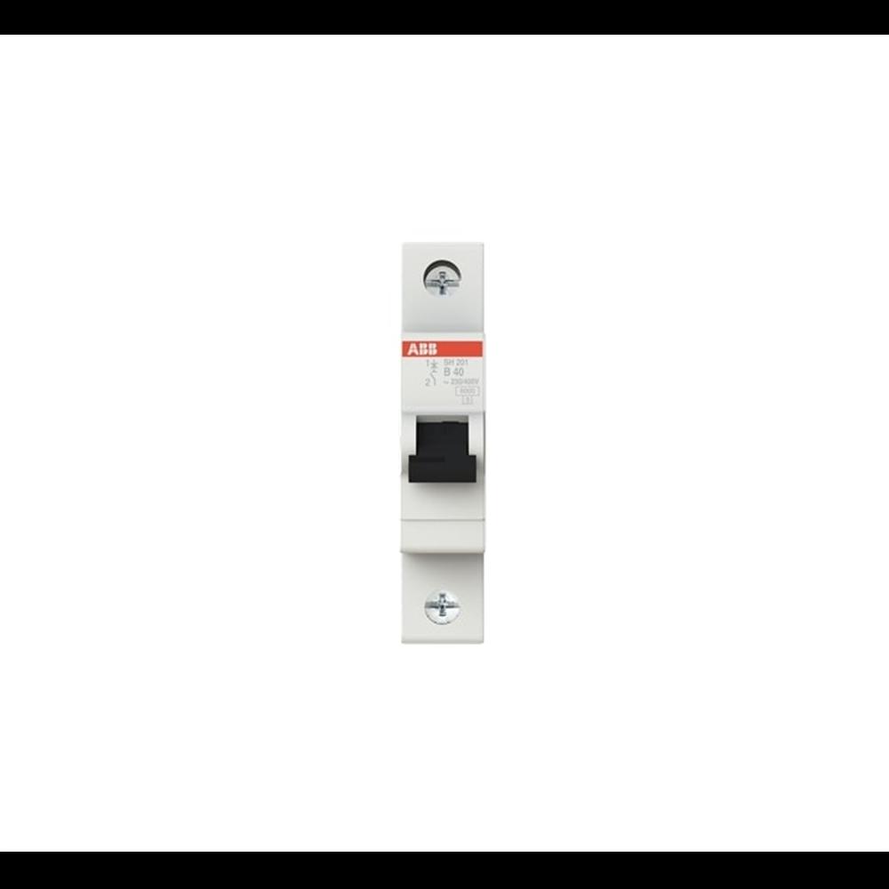 Automatski osigurac SH201-40 40A,B, 1p,6Ka