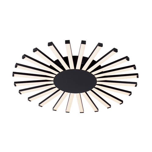JOSEY LUSTER LED 96W / 3000K D575XH50mm CRNI
