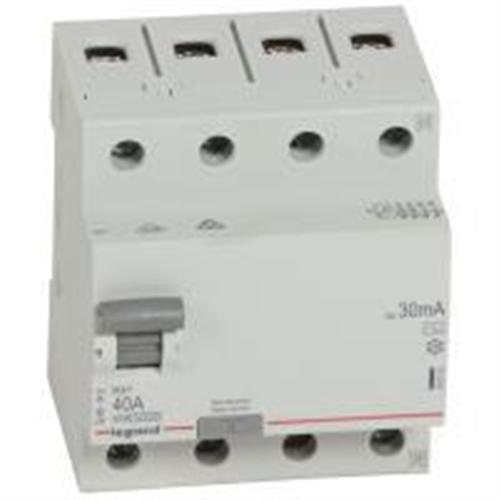 RX3: diferencijalna sklopka 4P, 40A, 30mA - tip AC
