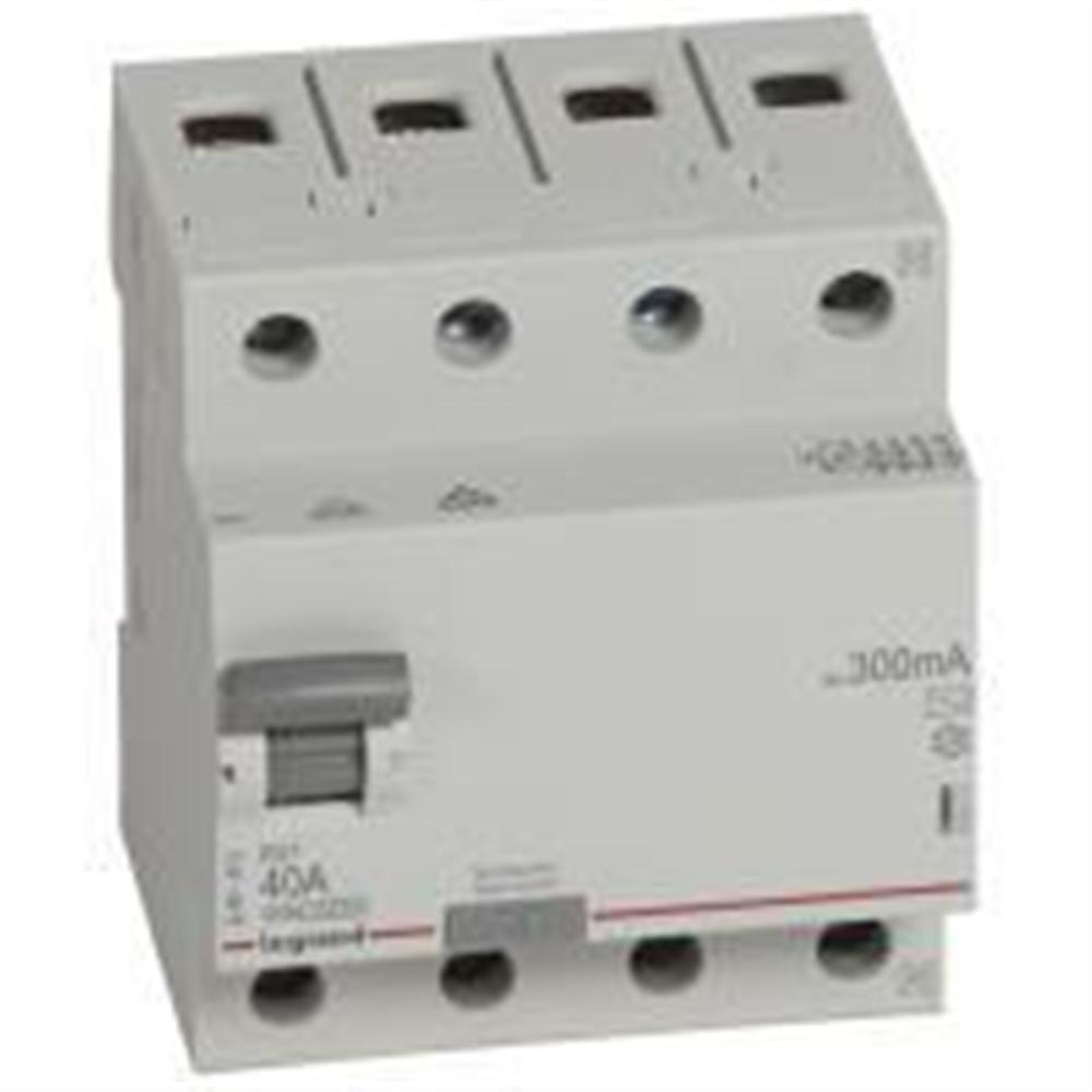 RX3: diferencijalna sklopka 4P, 40A, 300mA - tip AC