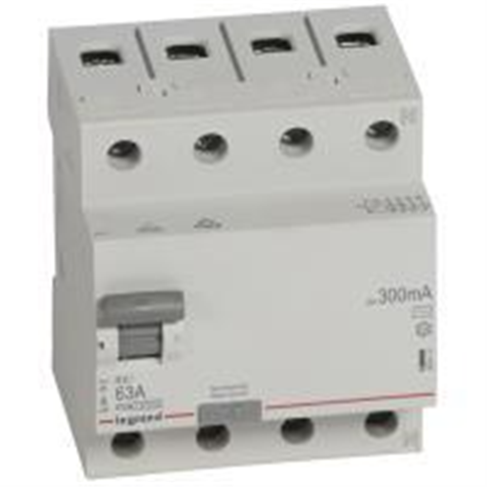 RX3: diferencijalna sklopka 4P, 63A, 300mA - tip AC