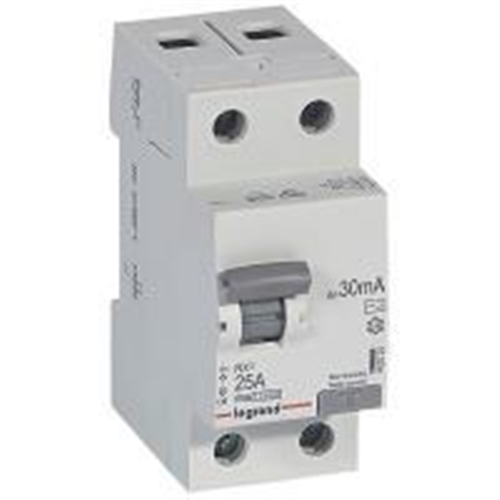RX3: diferencijalna sklopka 2P, 25A, 30mA - tip AC