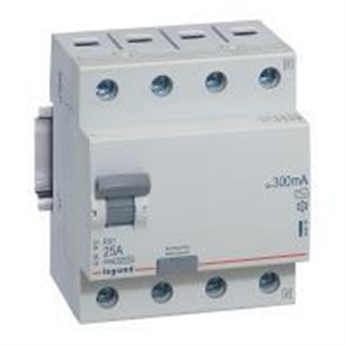 RX3: diferencijalna sklopka 4P, 25A, 300mA - tip AC