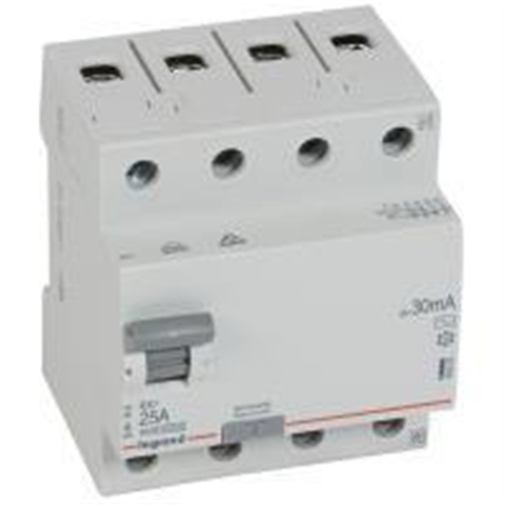 RX3: diferencijalna sklopka 4P, 25A, 30mA - tip AC