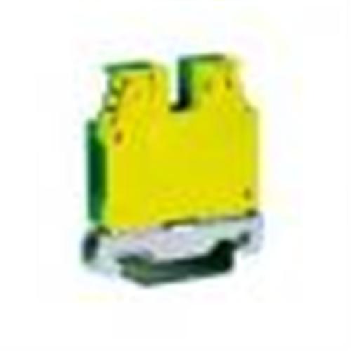 Redna klema-stezaljka 10 mm2 TEC.10 žuto-zelena Cabur