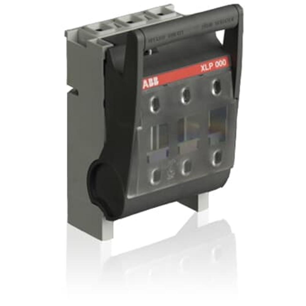 XLP000-6CC, base fus.sez.DIN000, 100A, m
