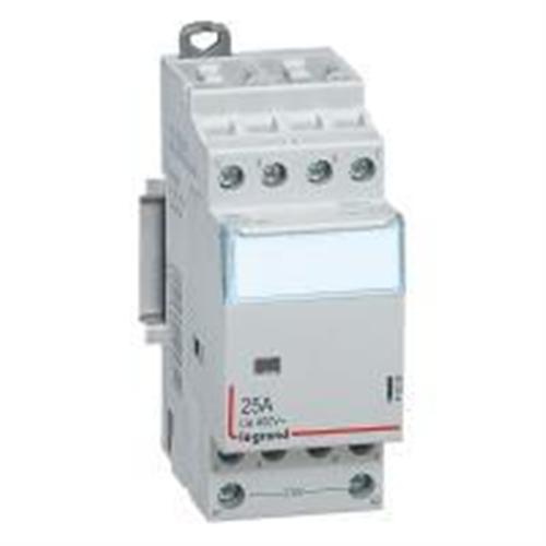 CTX3: kontaktor modularni bez rucice, 4P, 25A, kal. 230V AC, 4NO