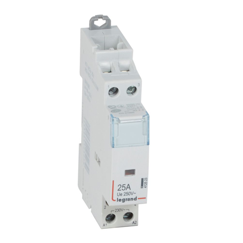 CTX3: kontaktor modularni bez rucice, 2P, 25A, kal. 230V AC, 2NO