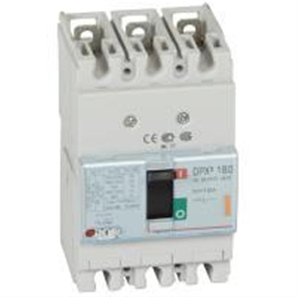 DPX3: kompakt prekidac 160A, 3P, F, FC, In=100A, Un=380/415V (Icu=25kA, Ics=100%Icu),