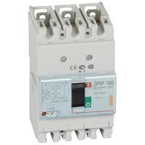 DPX3: kompakt prekidac 160A, 3P, F, FC, In=125A, Un=380/415V (Icu=25kA, Ics=100%Icu)