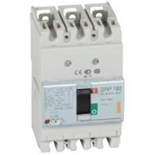 DPX3: kompakt prekidac 160A, 3P, F, FC, In=160A, Un=380/415V (Icu=25kA, Ics=100%Icu)