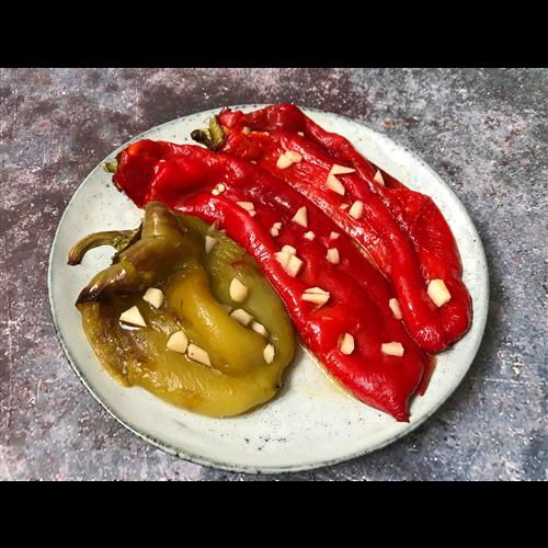 Pečena crvena PAPRIKA sa semenom ložom, 1kg