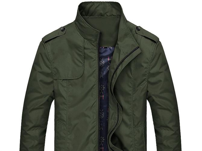 Slim Bomber Jacket