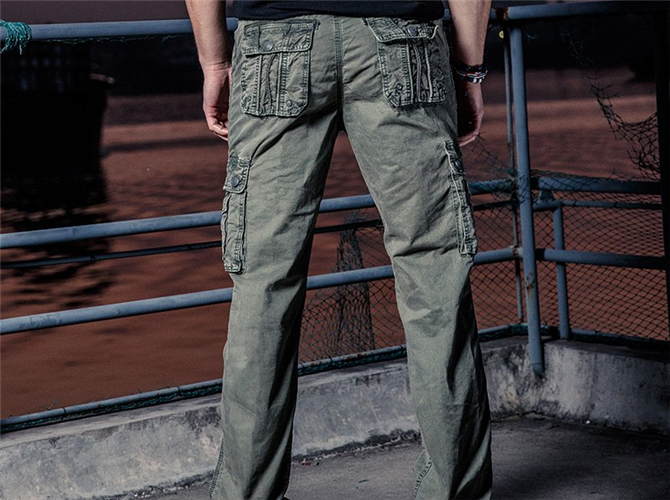 Cotton Military Tactical Pants