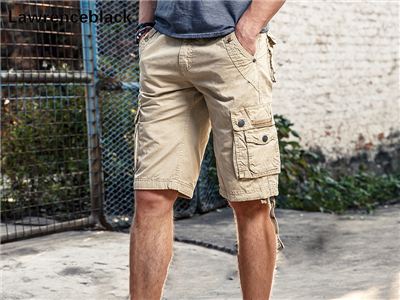Cargo Shorts Trousers Loose Fit