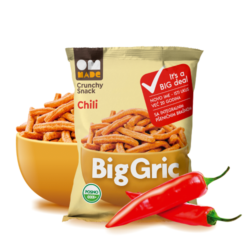 Biogric chilli 100 gr rinfuz