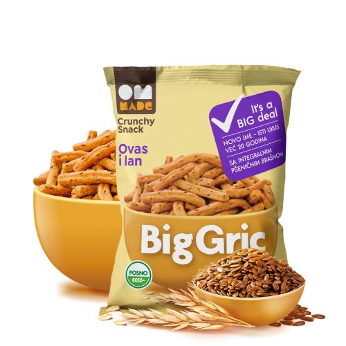 Biogric ovas lan 100 gr rinfuz
