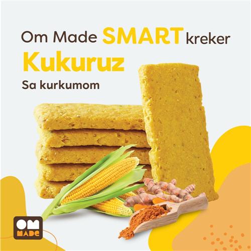 Smart kreker kukuruz i kurkuma 100 gr rinfuz