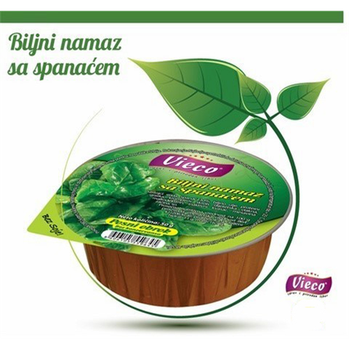 Biljni namaz sa spanaćem 50 gr