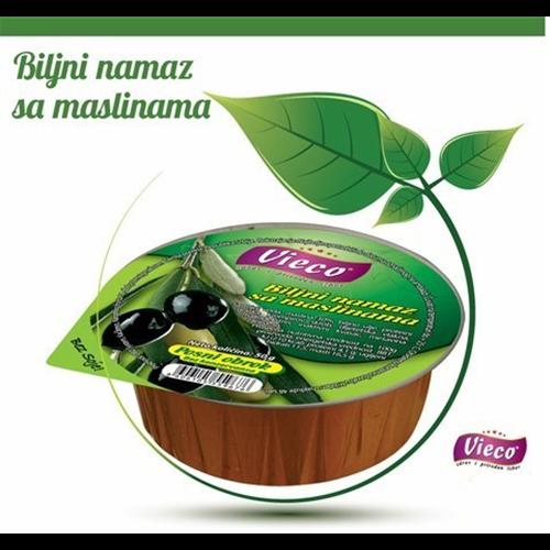 Biljni namaz sa maslinama 50 gr