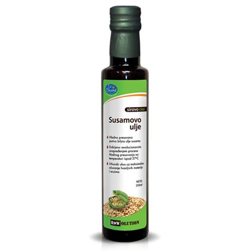 Sirovo susamovo ulje hladno ceđeno 250 ml