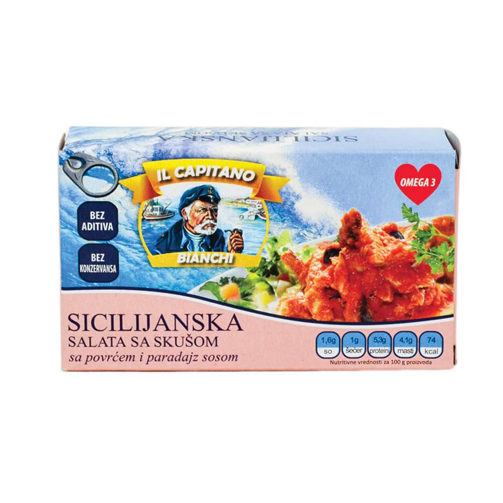 Il Capitano Sicilijanska salata sa skušom