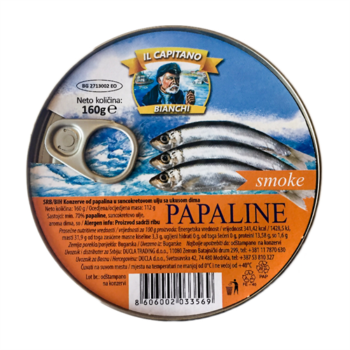 Il Capitano dimljena papalina 160 gr
