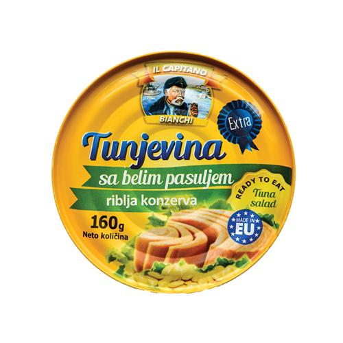 Il Capitano tuna sa belim pasuljem 160g