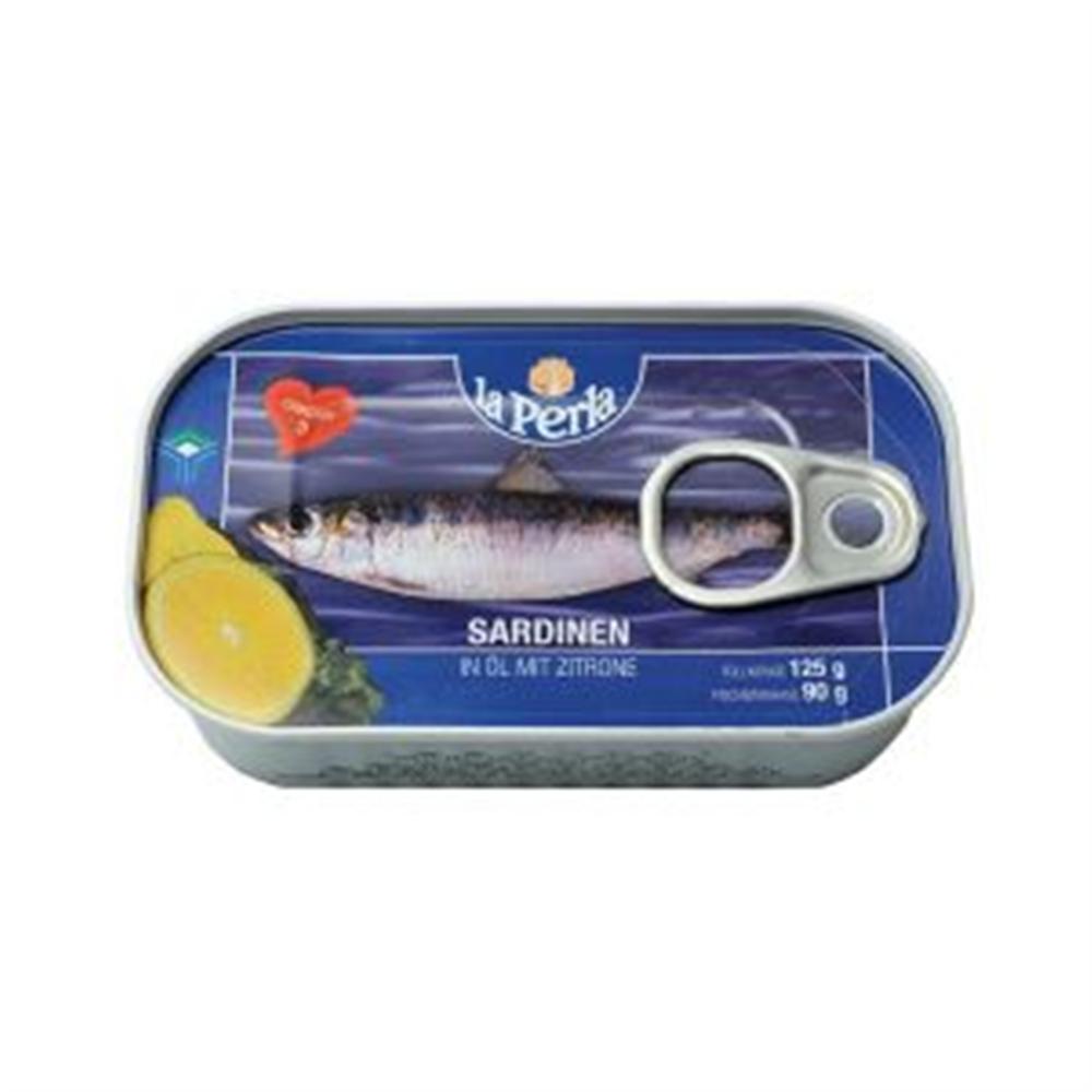 La Perla sardinea u ulju sa limunom 125g