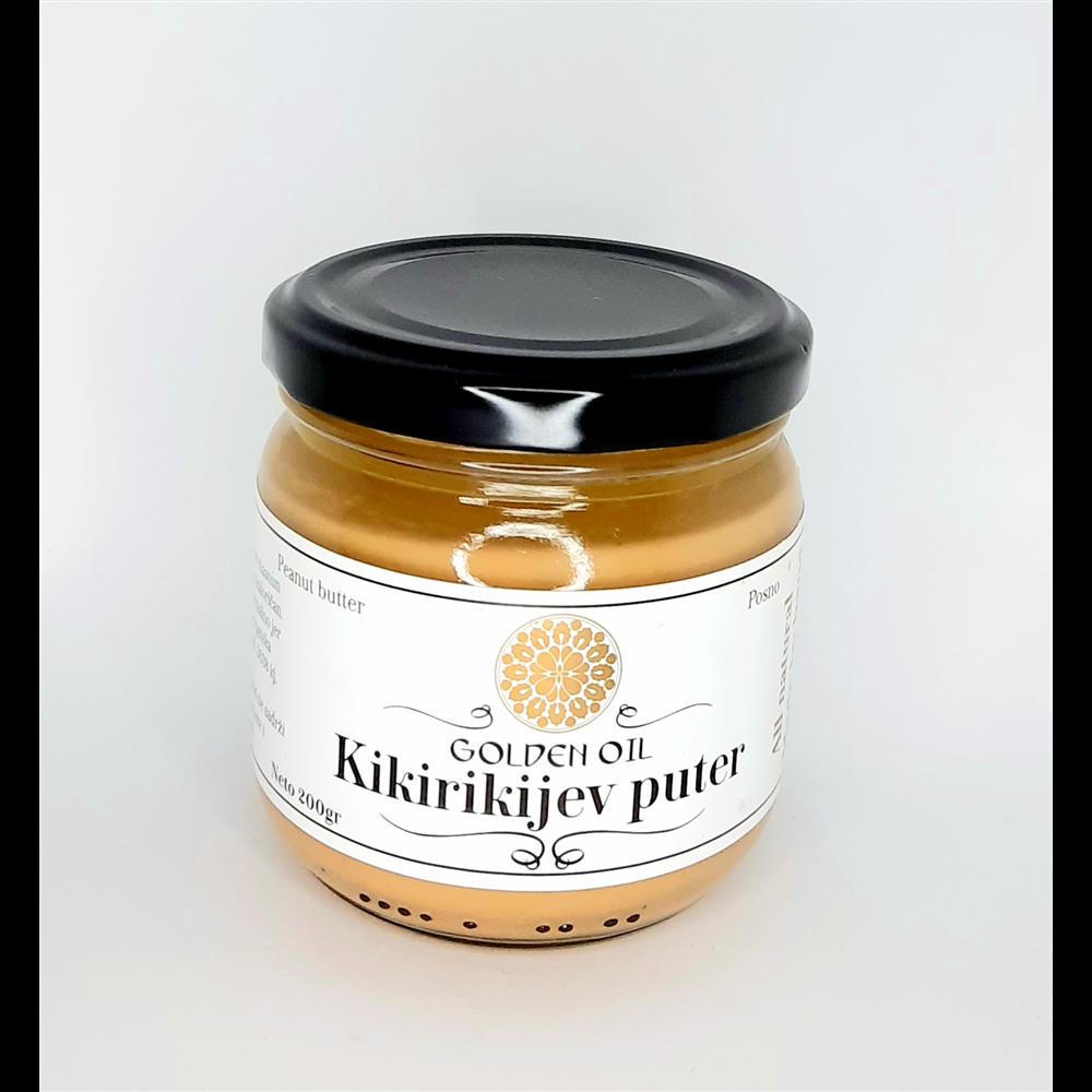 Kikiriki puter Golden Oil  200 gr